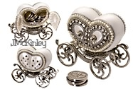 Wedding Arras Heart Carriage with Silver Arras Coins GORGEOUS Authentic Pigeon Egg Carria