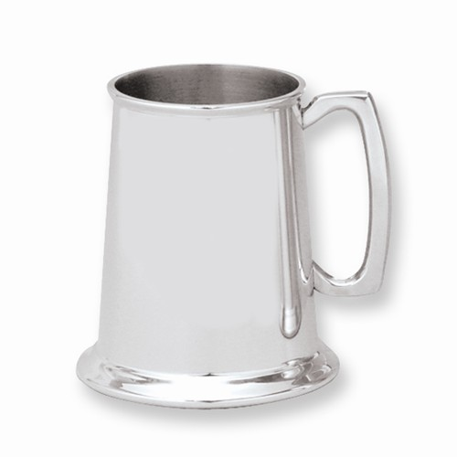Pweter Mug Mirror Finish 19 ounce