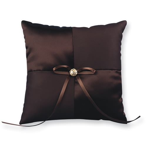 Chocolate Kiss Ring Pillow