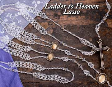 BLOWOUT SALE Ladder to Heaven Elegance Crystal Lazo