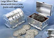 Silver Treasure Chest