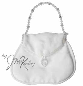 White Wedding Arras Purse Pouch for coins