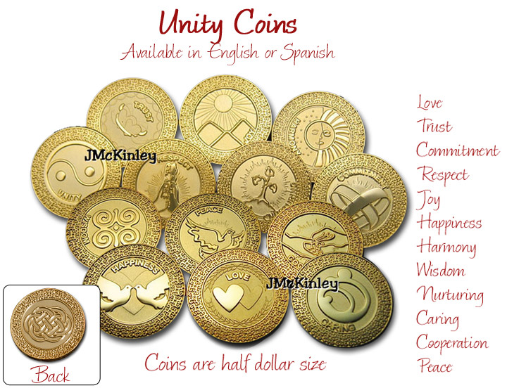 Gold Unity Coins