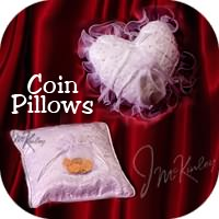 coin pillows