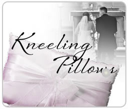 wedding kneeling pillows