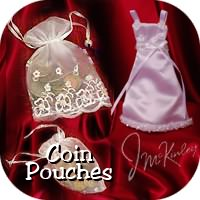 wedding coin pouches